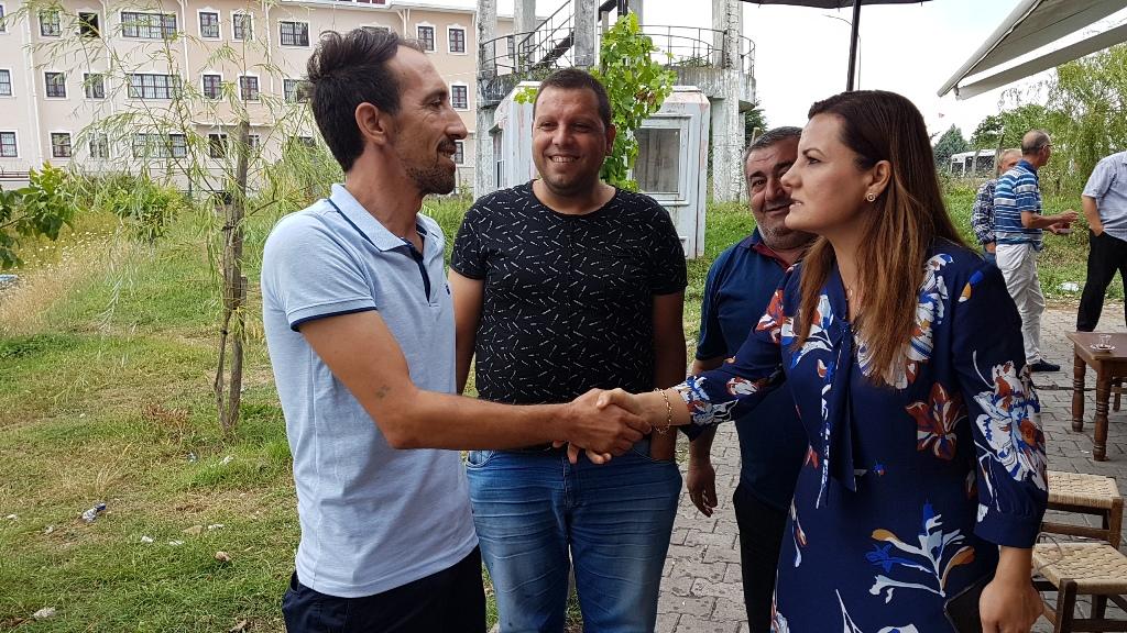 Hürriyet'ten destek ziyareti