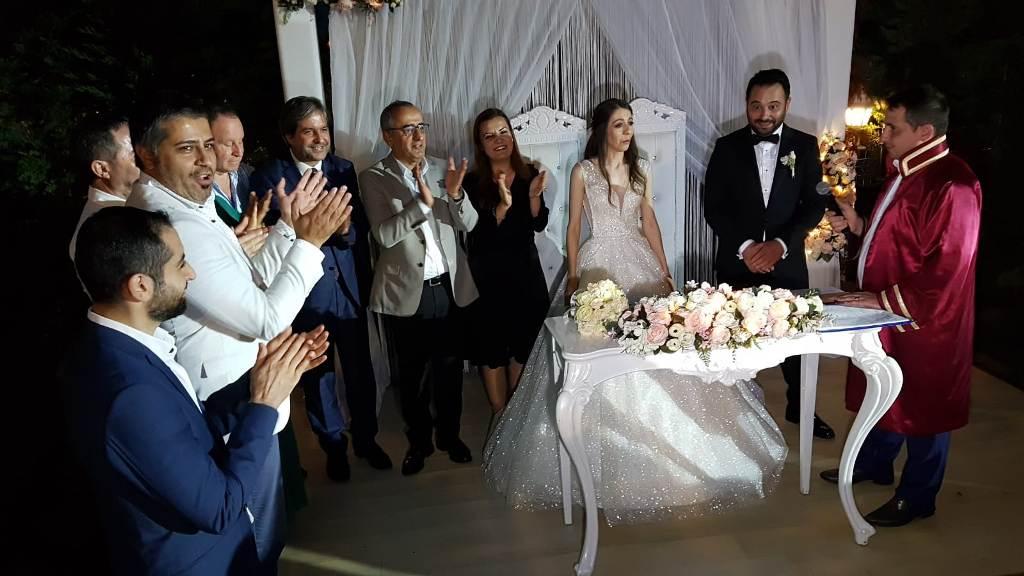 Evliliğe yelken açtılar