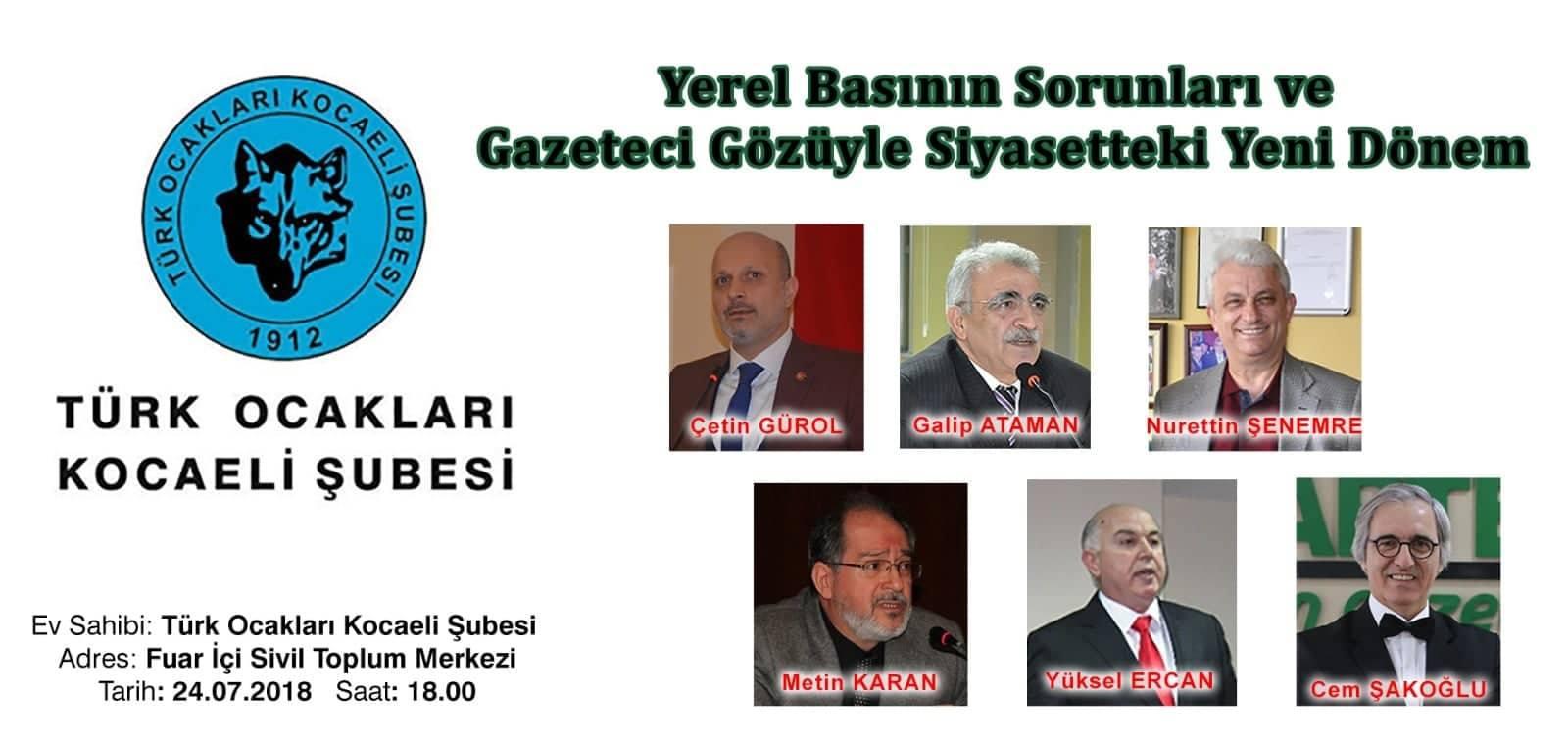 Türk Ocakları'ndan anlamlı organizasyon