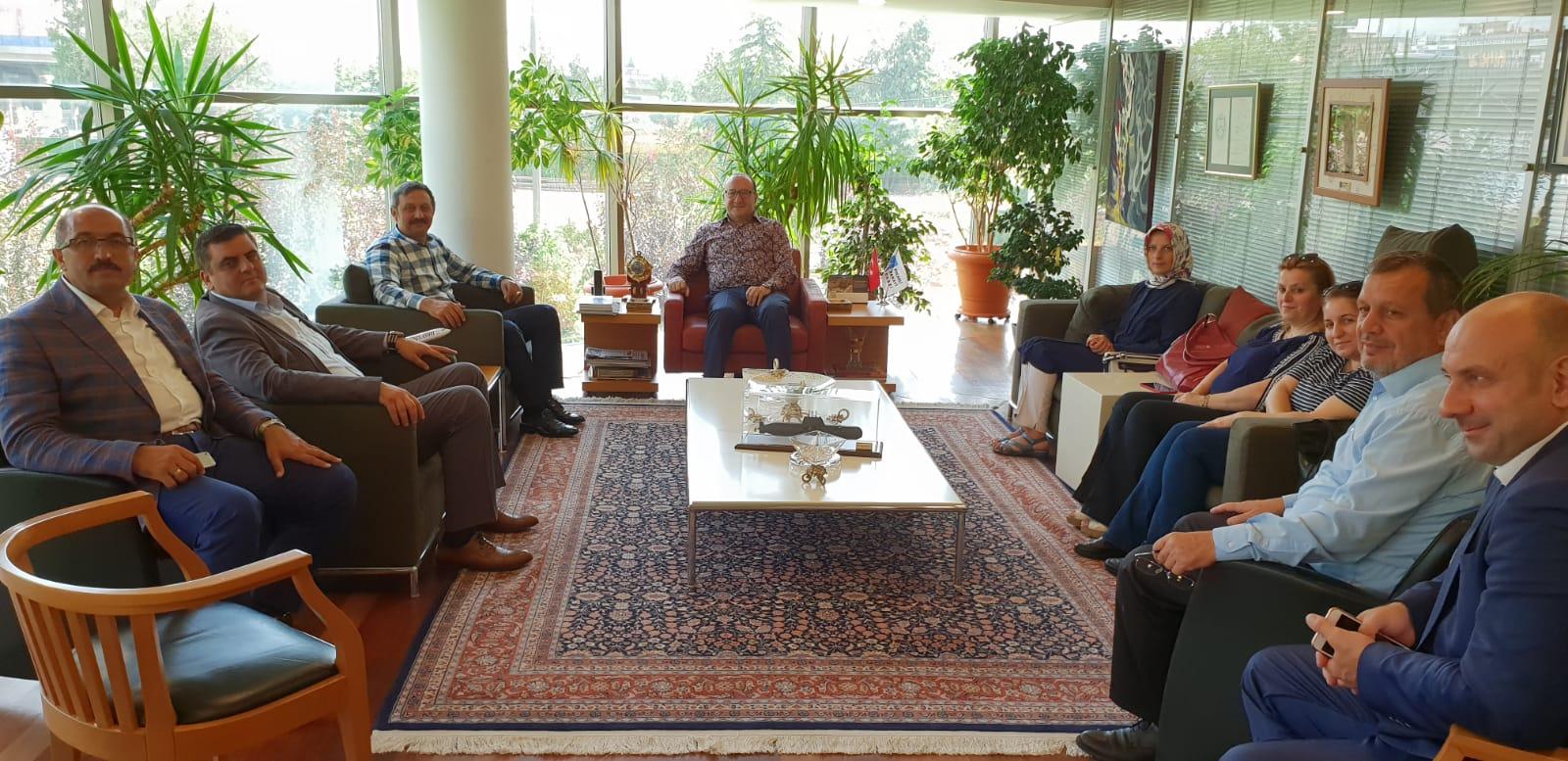 Yılmaz ve Ayaz'dan Zeytinoğlu'na ziyaret