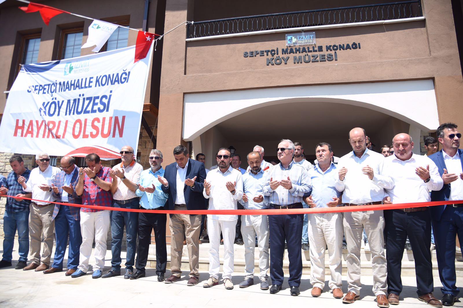Köy Müzesi törenle açıldı