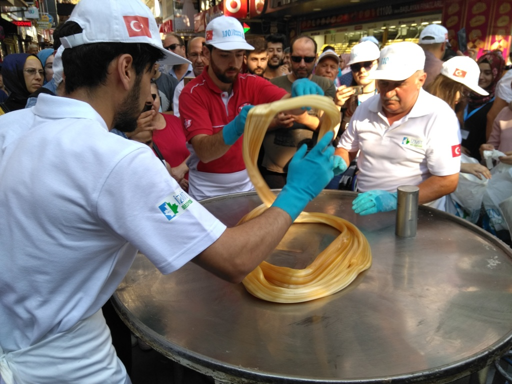 En tatlı festival İzmit'te