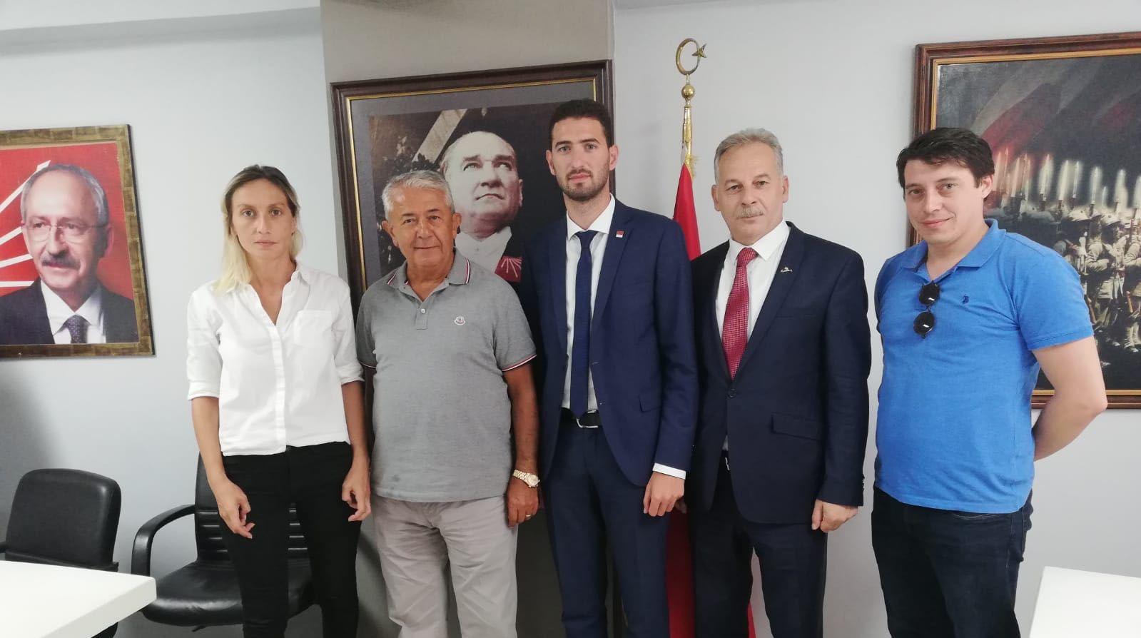 Sarıbay'dan Başaran'a ziyaret