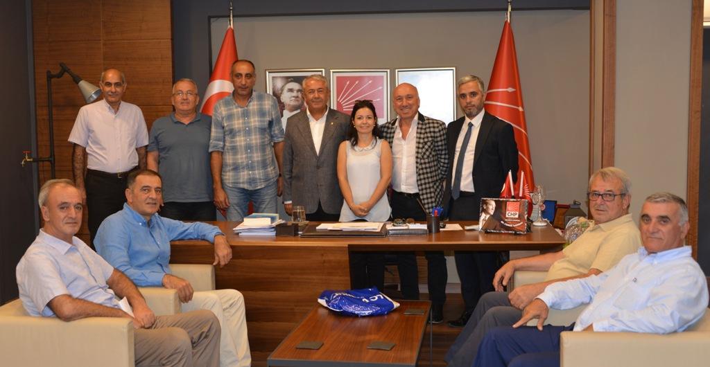 Çalışkan'dan CHP'ye veda ziyareti
