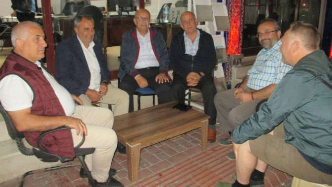 Osman Sargın'a konuk oldular