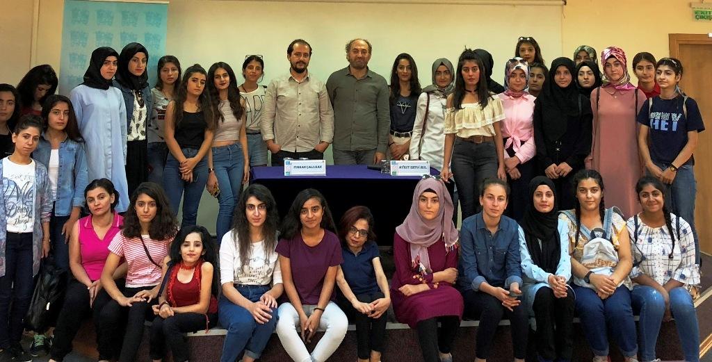 Mardinli gençler, Genç Vefa söyleşisine katıldı
