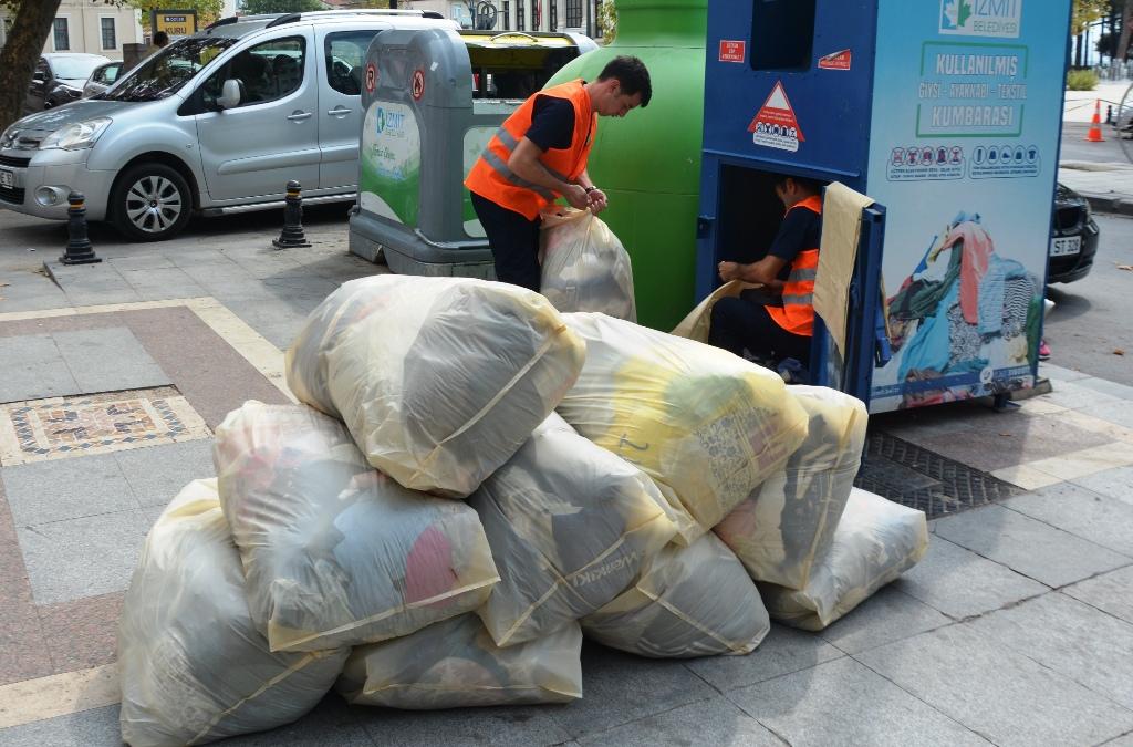 Tekstil atık projesi amacına ulaştı