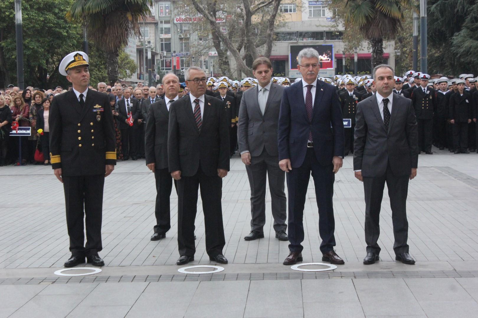 Gazi Mustafa Kemal Atatürk Törenle Anıldı