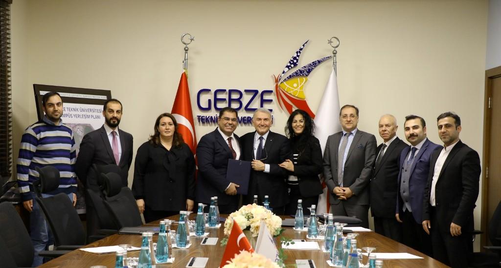 Gebze'de üniversite sanayi iş birliği