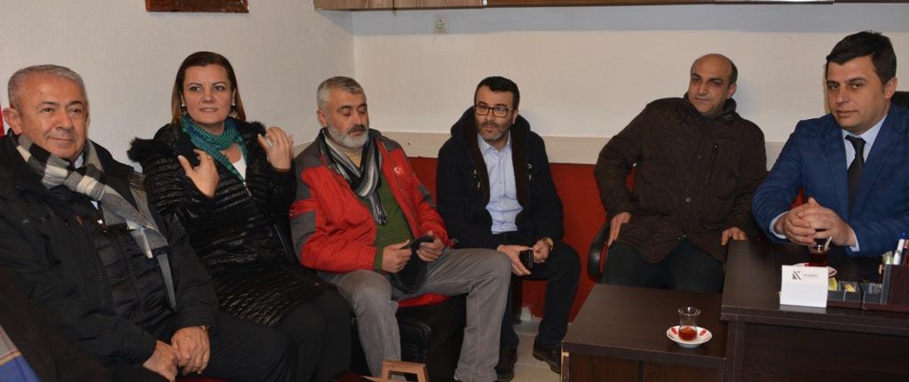 CHP'liler Tavşantepe'ye çıkarma yaptı
