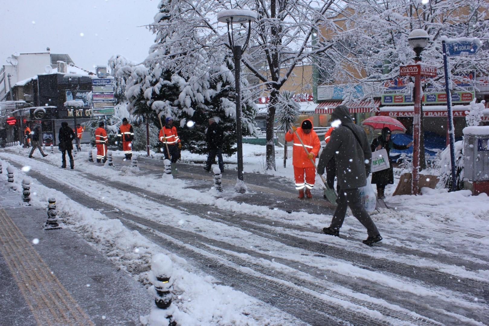 Gölcük Belediyesi kışa hazır