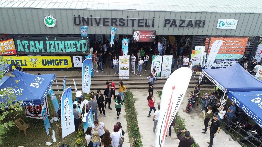 Üniversiteli pazarına büyük ilgi