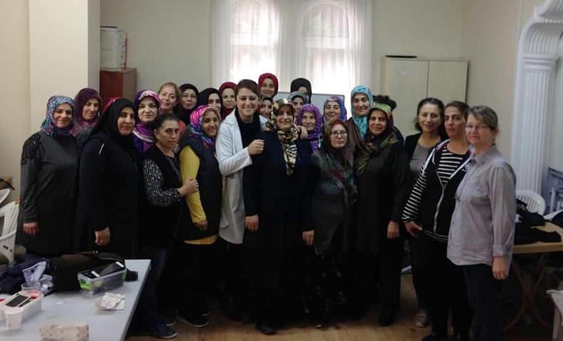 Yenikent'te kurslara yoğun ilgi