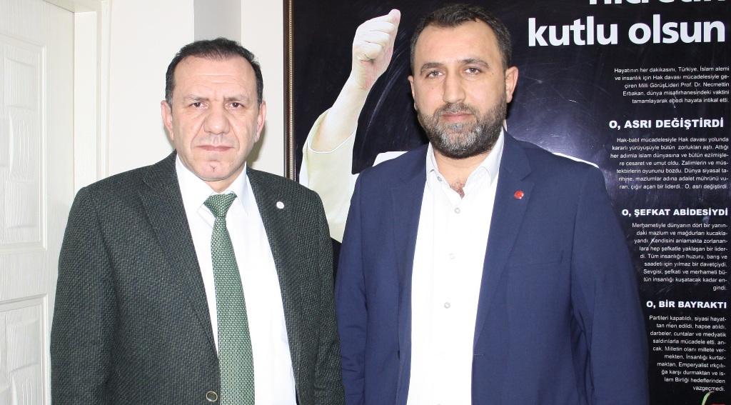 Muhtar adaylarından Saadet Partisi'ne ziyaret