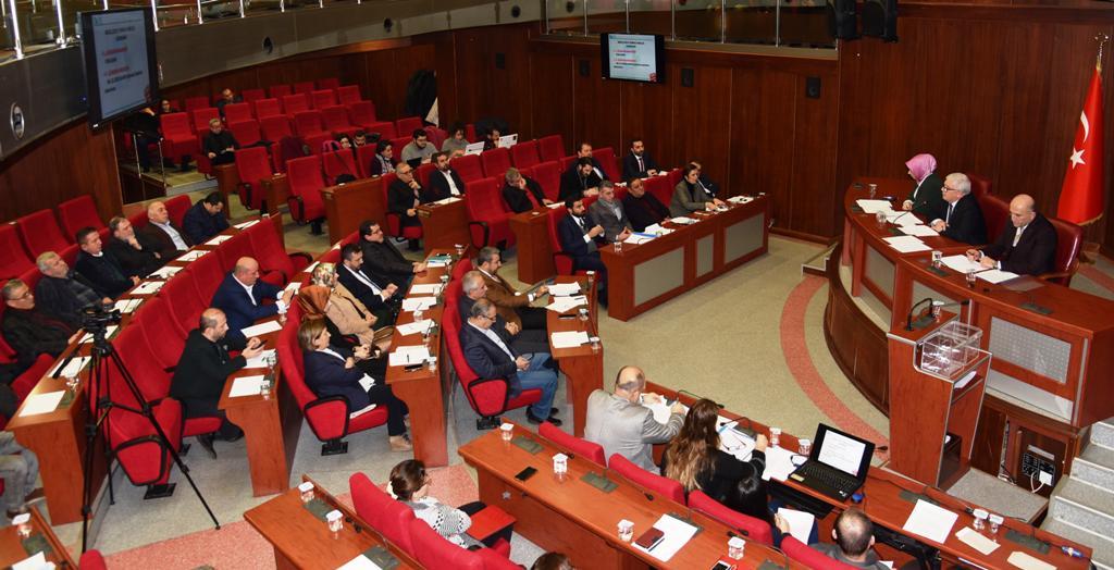 İzmit'te yılın ilk meclisi