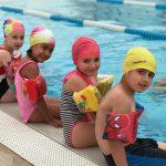 Yüzmeyi öğrendiler