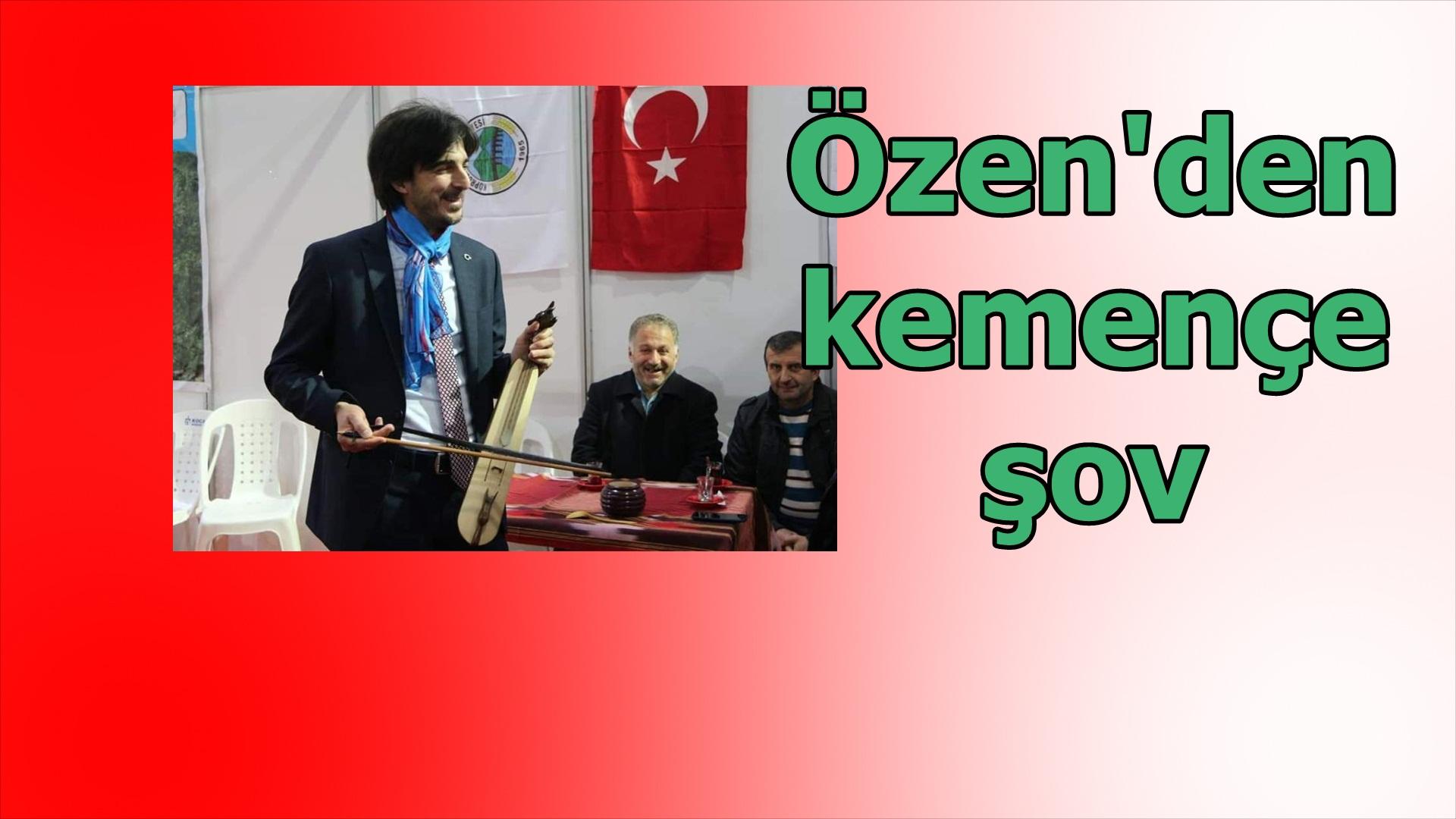 Ahmet Özen, gülmekten kırdı geçirdi