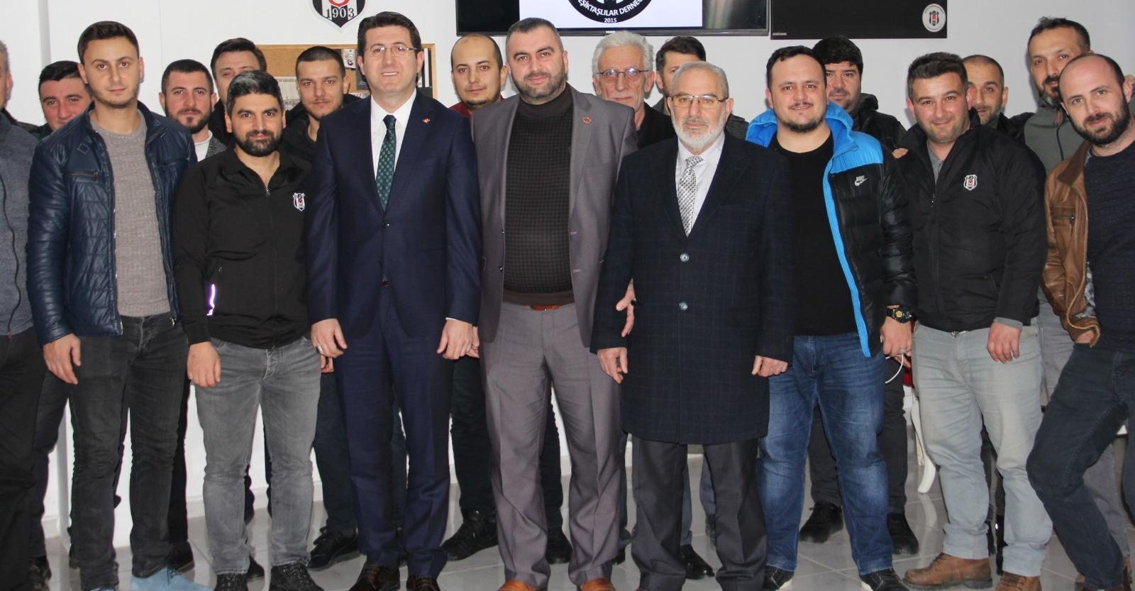 Beşiktaşlılar 'Mutlu' oldu