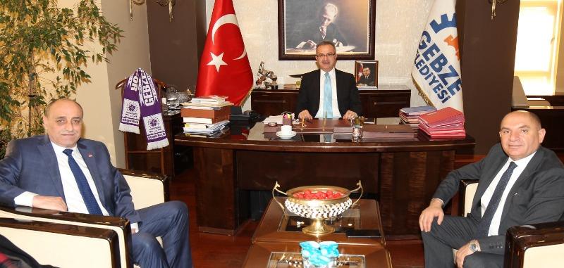 Tarhan, başkanlara teşekkür etti