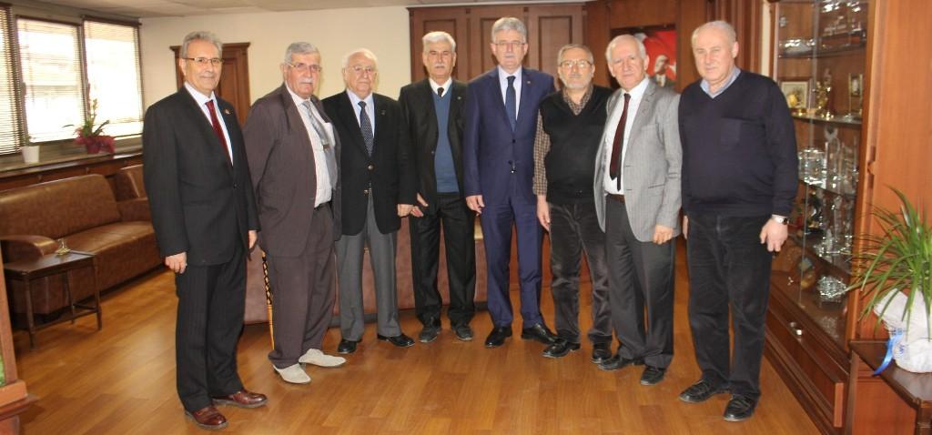 Başkan Ellibeş, makamında ağırladı