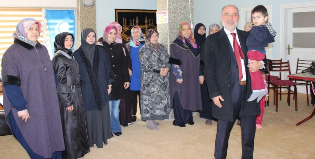 Körfezli kadınlardan Sarıdoğan'a tam destek