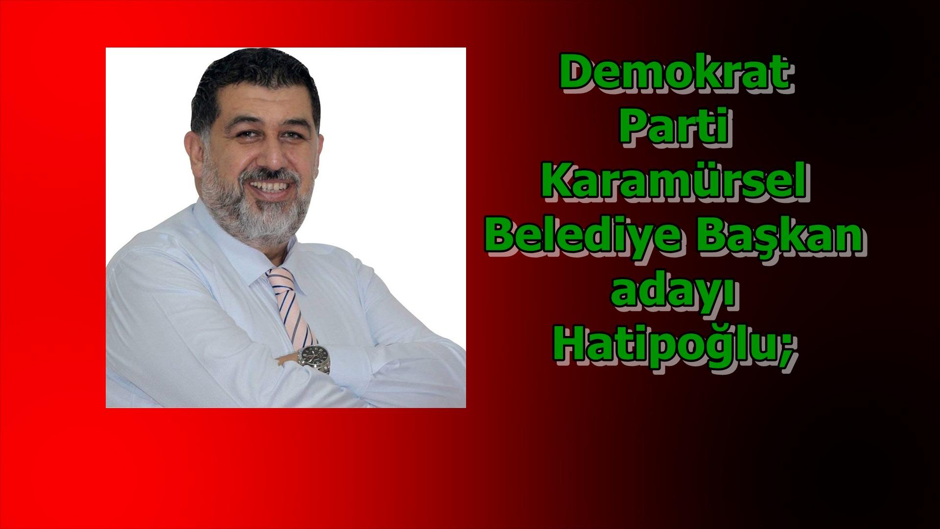 """Ortak paydamız Karamürsel"""