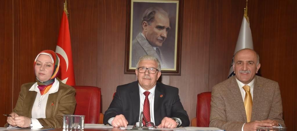Meclise Elgin başkanlık yaptı