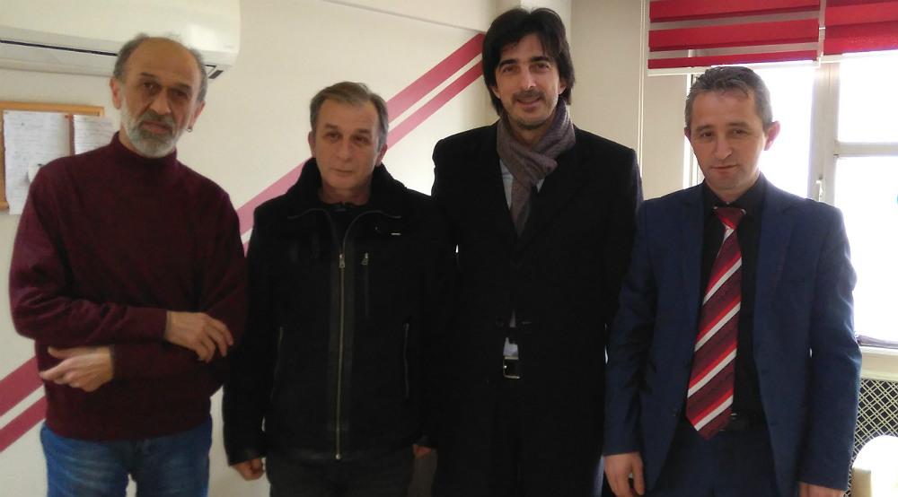 Ahmet Özen'den gazetemize ziyaret