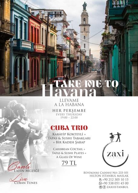 Zaxi'de Küba esintileri