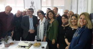 Şahin Ecevit'e kutlama