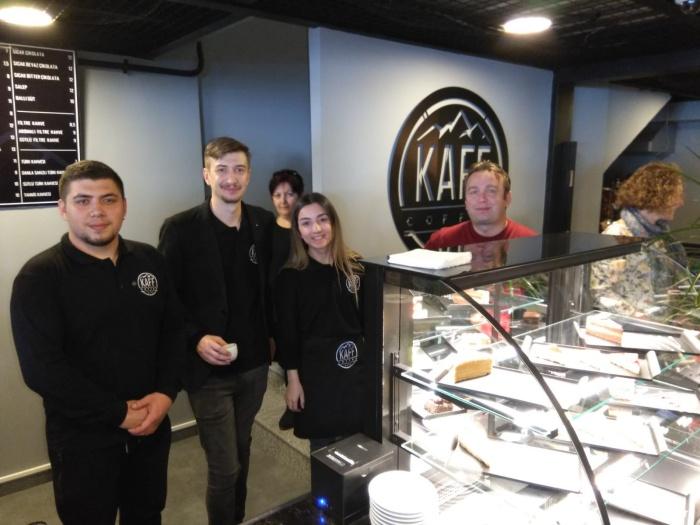 Kaff Coffe & More hizmete girdi