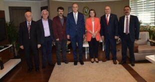 neş ve Tarhan'dan, Hürriyet'e ziyaret