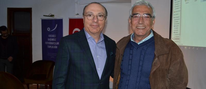 Burhanoğlu, fotoğraf sanatçılarıyla buluştu
