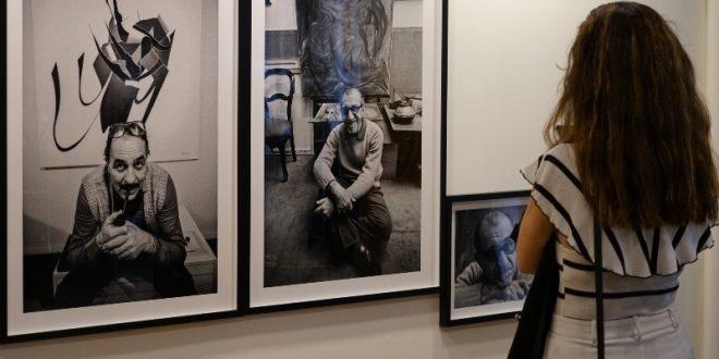 Ustanın portreleri Işık Üniversitesi'nde