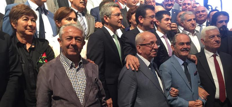 Sarıbay ve İmamoğlu İstanbul'da buluştu