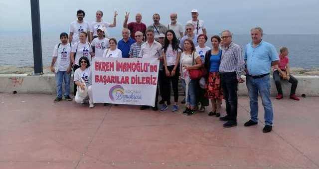 Kocaeli Demokrasi Girişimi'nden İmamoğlu'na destek