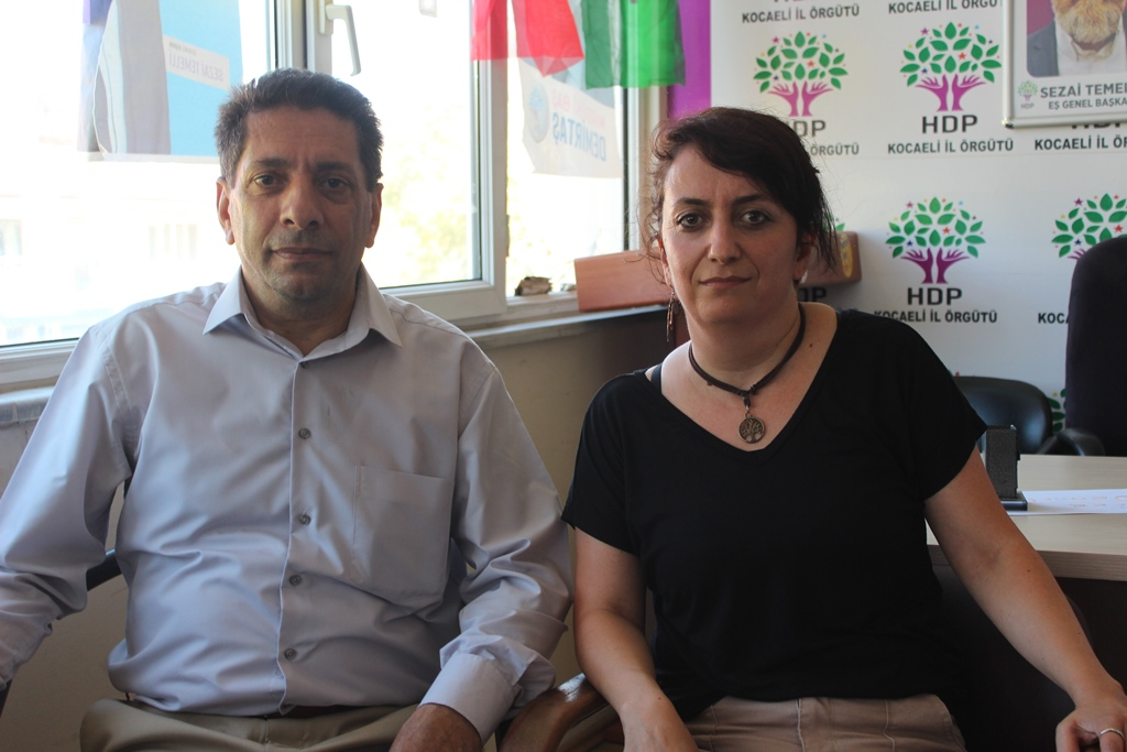 HDP'de vekilli bayramlaşma