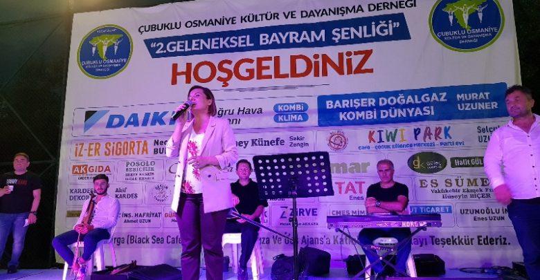 Çubuklu Osmaniye'de Hürriyet'li kutlama
