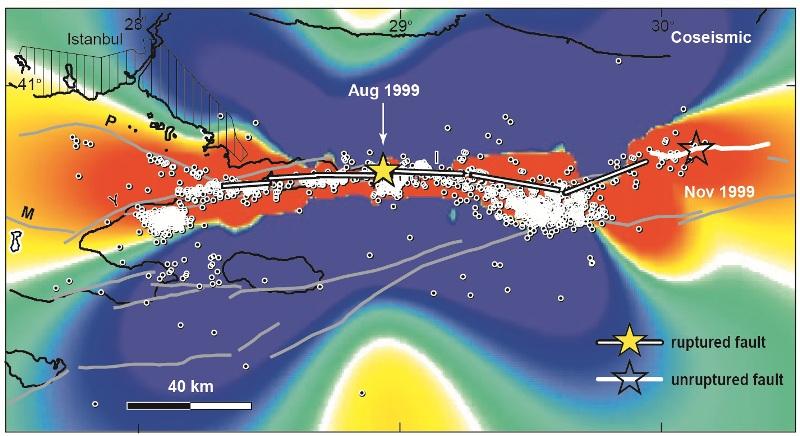 Marmara denizi anlık inceleniyor