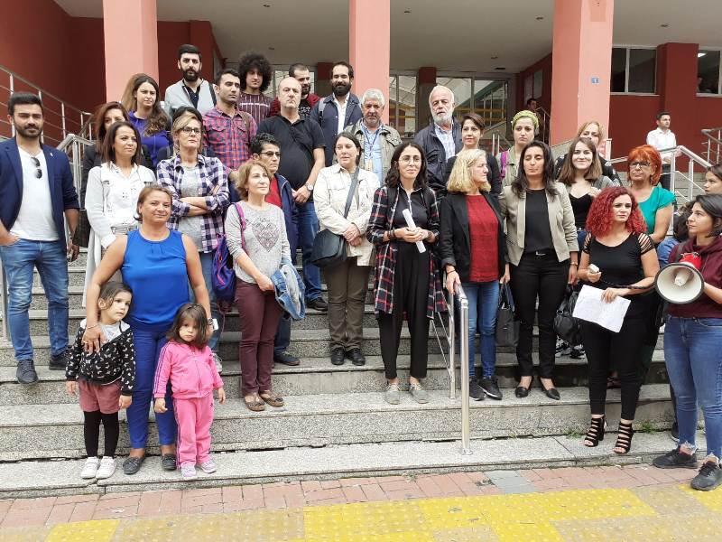 Kadın Platformu'ndan Çatak'a destek