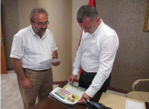 Kalyoncu'dan başkana davet
