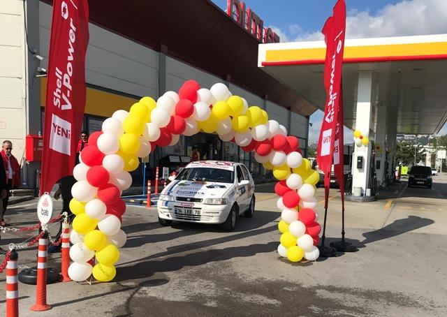 Kocaeli Rallisi'ne Shell & Turcas desteği