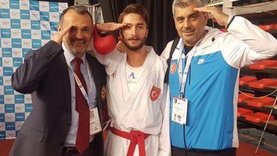Karatecilerden çifte gümüş madalya