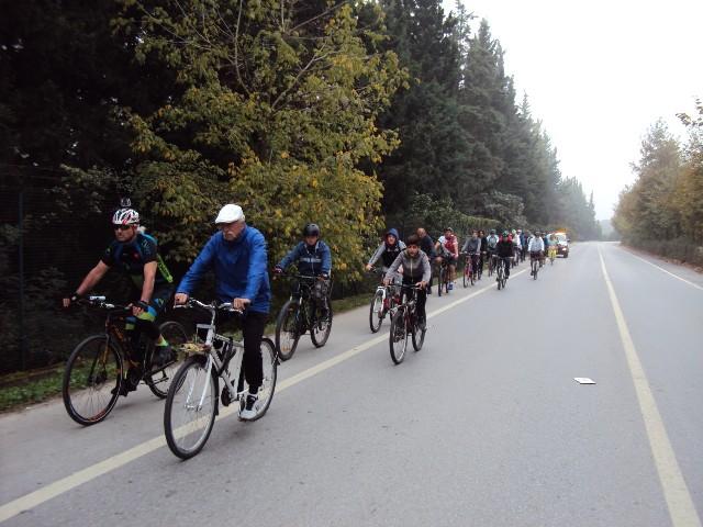 Farkındalık yaratan bisiklet turlarına devam