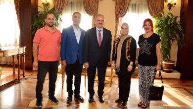 Kocaeli heyeti, Antalya'da Vali Karaloğlu'nu ziyaret etti