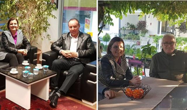Hürriyet'ten eski başkanlara nezaket ziyaret