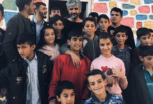 Manuş Baba'dan Köy Okuluna Ziyaret