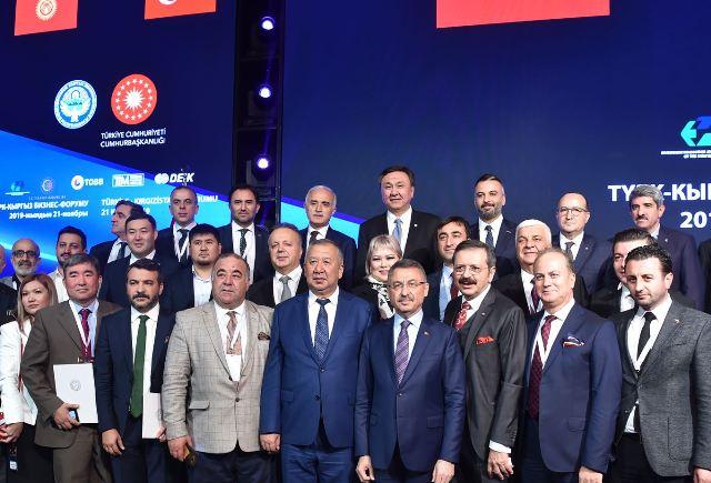 Başkan Bulut, Türkiye-Kırgızistan İş Forumu'na katıldı