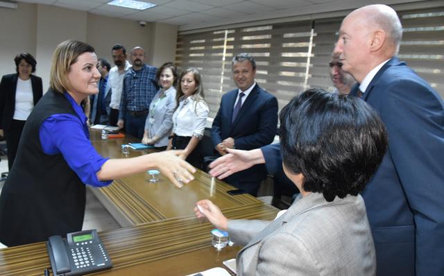 Başkan Hürriyet, Birim Müdürleri ile Buluştu