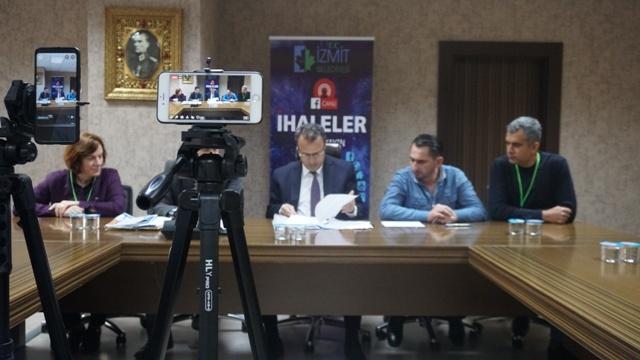 İzmit Belediyesi'nde şeffaf ihaleler sürüyor